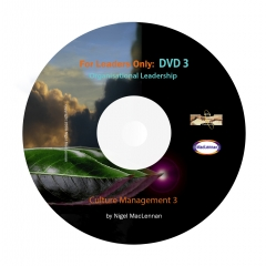For Leaders Only - Culture Management 3 DVD