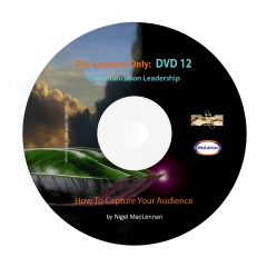 For Leaders Only - Capture Your Audience in the 1st Minute DVD