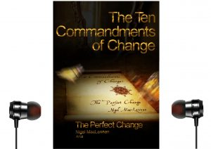 Audio version of The 10 Commandments of Change